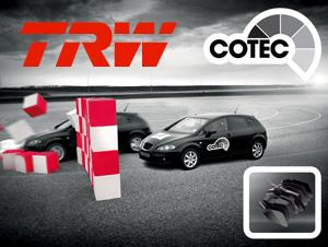 Тормозные колодки и диски TRW