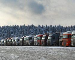 Зимний плюс на рынке грузовиков