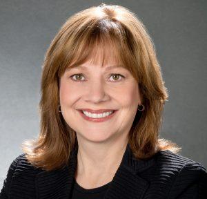 Мэри Барра исполнительный директор и председатель совета директоров GM