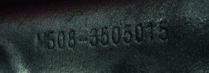 На чугунных корпусах в литье нанесена маркировка с буквами МБ (Миасс, БРИК)