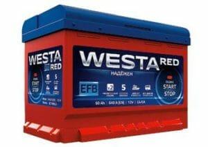 WESTA RED EFB преимущества перед обычными стартерными АКБ