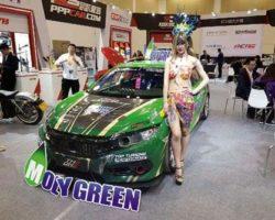 В Японии в моде зелёное Моторные масла MOLYGREEN