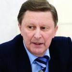 Сергей Иванов, специальный представитель президента РФ по вопросам природоохранной дея- тельности, экологии и транспорта