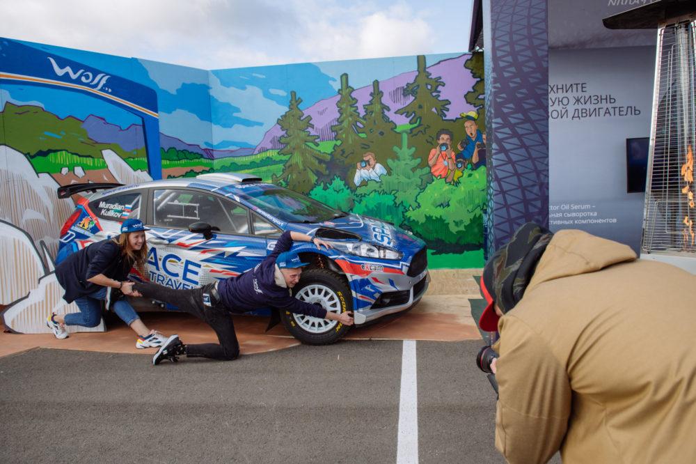 официальный автомобиль Чемпионата мира по ралли в классе Junior (J-WRC) Ford Fiesta