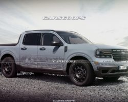Опубликован рендер нового пикапа Ford Maverick